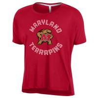 Under Armour Threadborne Solid Crop Short Sleeve Tee