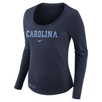 Nike Womens Long Sleeve Slub Shirt