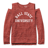 Red Shirt Athleisure Cold Should Long Sleeve T Shirt