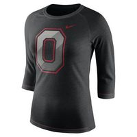 WOMANS NIKE 3 QUARTER SLEEVE TEE