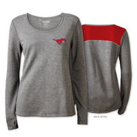 Red Shirt Athleisure Longsleeve