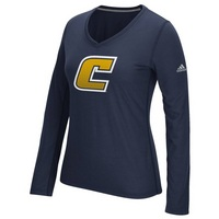 Adidas Womens Long Sleeve Ultimate V Neck Tee