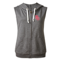Red Shirt Athleisure Hoody Vest