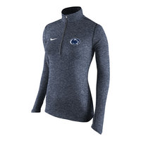 Nike Womens Heather Element Quarter Zip