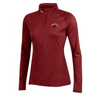 Womens Tech Quarter Zip Pullover
