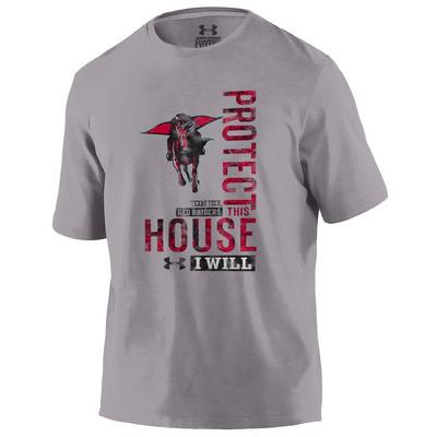 Texas Tech Red Raiders Under Armour Charged Cotton Tee
