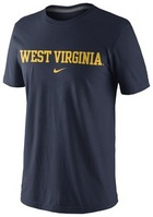 WVU Nike Fan Legend Tee
