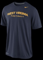 Nike  WVU 2013 Practice Legend Authentic Front Tee