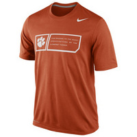 Nike Clemson Legend Training Day Tee
