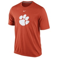 Nike Clemson Dri Fit Logo Short Sleeve Legend Tee