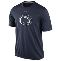 Nike Penn State Dri Fit Logo Short Sleeve Legend Tee