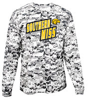 Badger Sports Digital Camo Long Sleeve Performance Tee