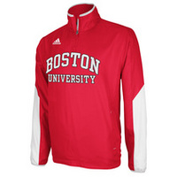 BOSTON UNIVERSITY ADIDAS SIDELINE HOT JACKET