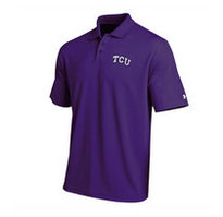 TCU Horned Frogs Under Armour Heat Gear Loose Fit Team Polo