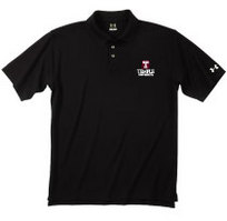 Temple Under Armour Heat Gear Loose Fit Team Polo