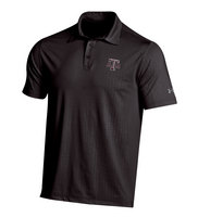 Cold Black Embossed Polo