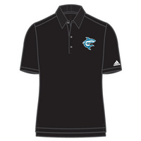 Adidas Mens Solid Jersey Polo