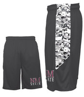 Badger Sports Digital Camo Performance Panel Short