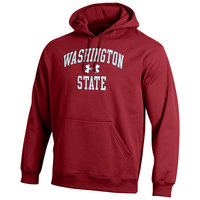 Washington State Cougars Under Armour Cold Gear Loose Fit Hoodie
