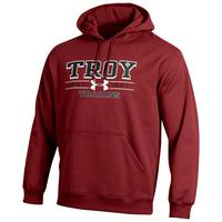 Troy University Under Armour Cold Gear Loose Fit Hoodie