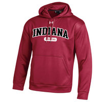 Indiana Hoosiers Under Armour Cold Gear Loose Fit Hoodie