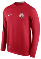Nike Ohio State KO Chain Fleece Crew