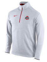 Nike Ohio State Coaches Half Zip Knit Top