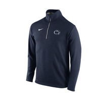 Nike Penn State Coaches Half Zip Knit Top