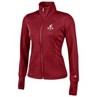 Womens Vapor Fitness Full Zip