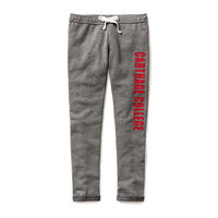 Red Shirt Athleisure Cufffed Pant