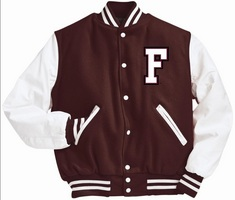 Holloway Fordham University Varsity Jacket
