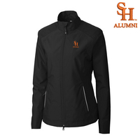 Alumni Cutter & Buck Womens WeatherTec Beacon Full Zip Jacket (Online Only)