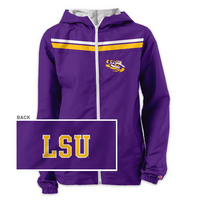 League Womens Windjammer Hooded Windbreaker