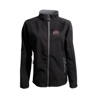 Womens Softshell Athletic Logo