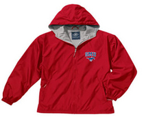 SMU Mustangs Charles River Full Zip Jacket