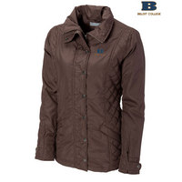 Womens Cutter & Buck CB Weathertec Granite Falls Car Coat