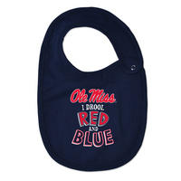 Ole Miss College Kids Infant/Toddler Bib