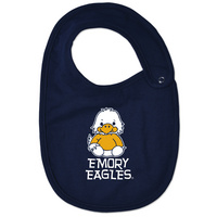 Emory Eagles College Kids Infant,Toddler Bib