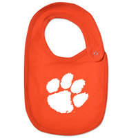 Clemson Tigers College Kids InfantToddler Bib