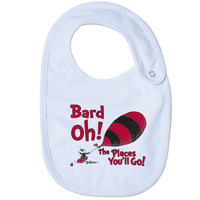 College Kids Infant Dr. Seuss Bib