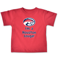 Houston Cougars College Kids Infant TShirt