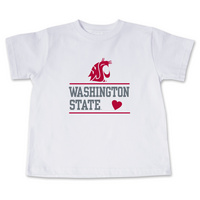 Washington State Cougars College Kids Toddler T-Shirt