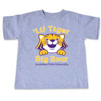 LSU Tigers College Kids Toddler TShirt