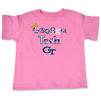 Georgia Tech College Kids Toddler TShirt