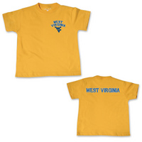 WVU Mountaineers College Kids Toddler T-Shirt