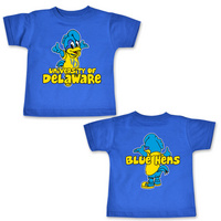 Delaware Blue Hens College Kids Infant TShirt