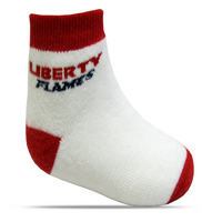 Top Sox Flames Baby Bootie