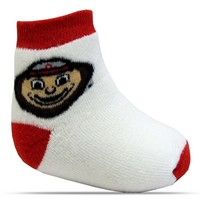 Ohio State Buckeyes TopSox Baby Bootie
