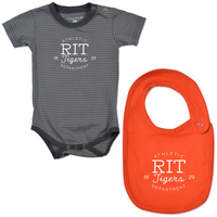 Stripe Bodysuit and Bib set