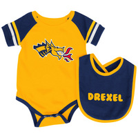 Colosseum Infant Roll Out Onesie & Bib Set